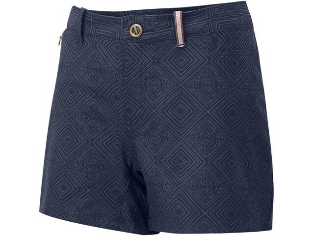 Sherpa Jatra Pantalones cortos Mujer, azul